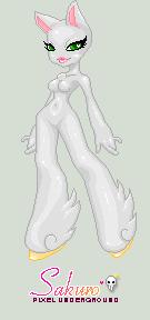 Sakuro pony girl base by leviathen