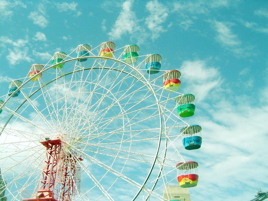 Ferris Wheel - Stock by pumpkinandpie