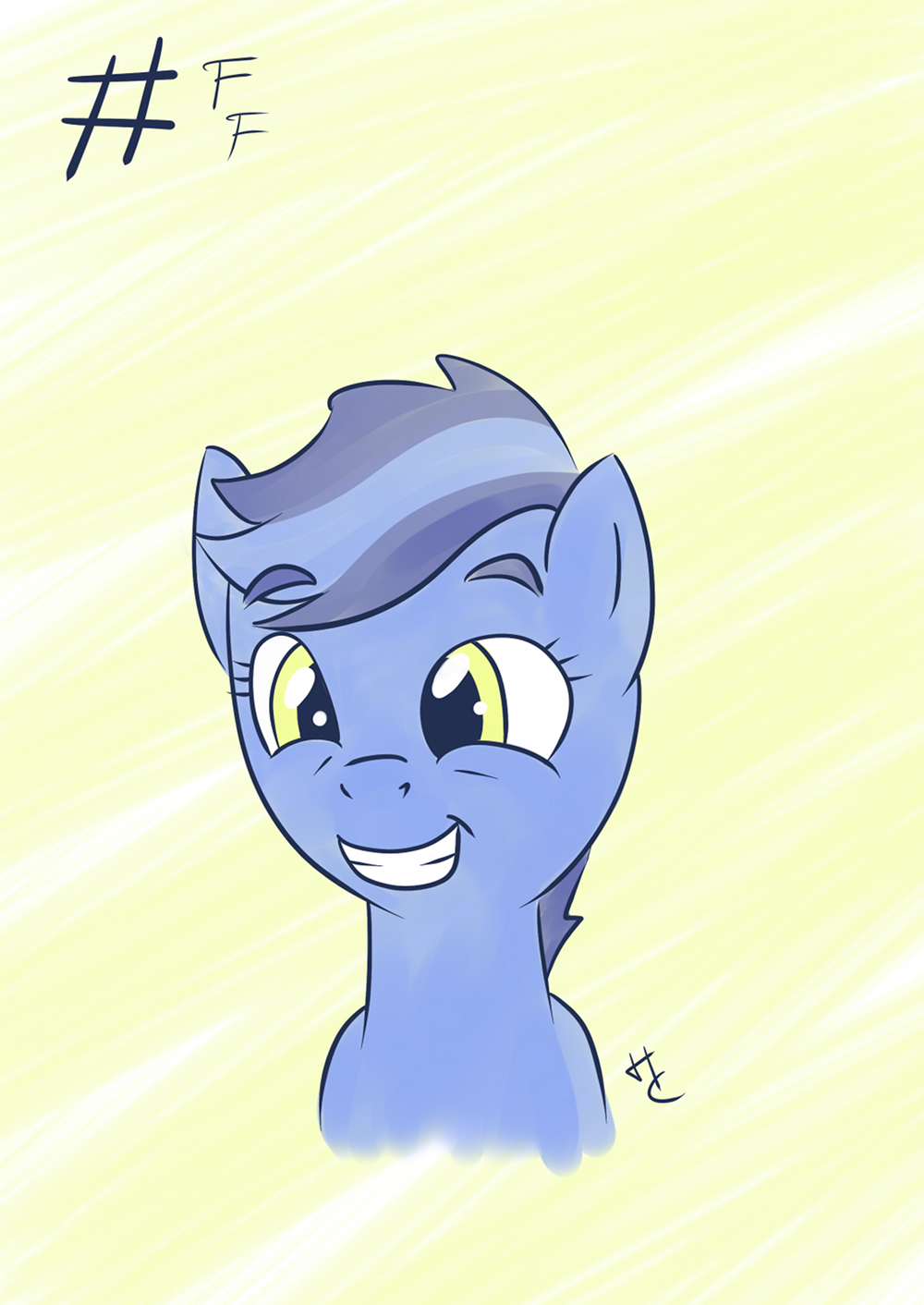 Follow Friday's squee face by HardCyder on deviantART