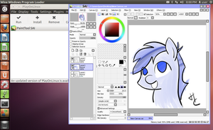 Install Paint Tool SAI on Linux w/ Pen Pressure!