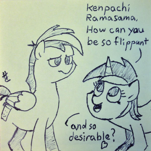 Twilight Time: We Love You, Princess! (I Love You, Kenpachi ...