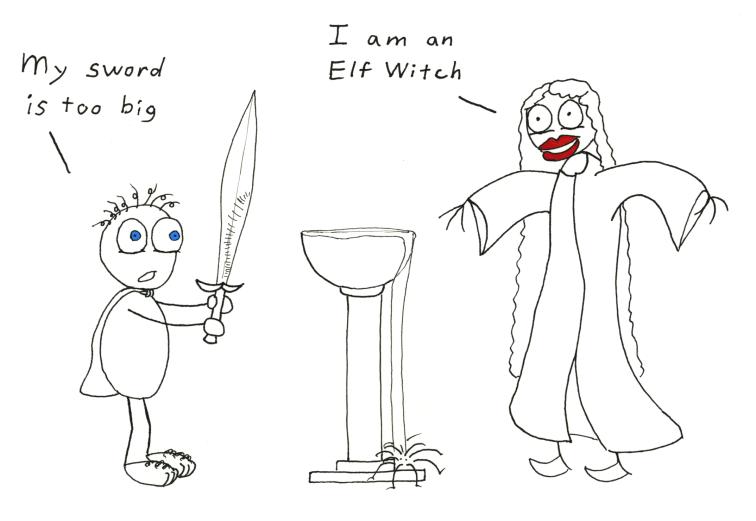 Elf Witch by HardCyder