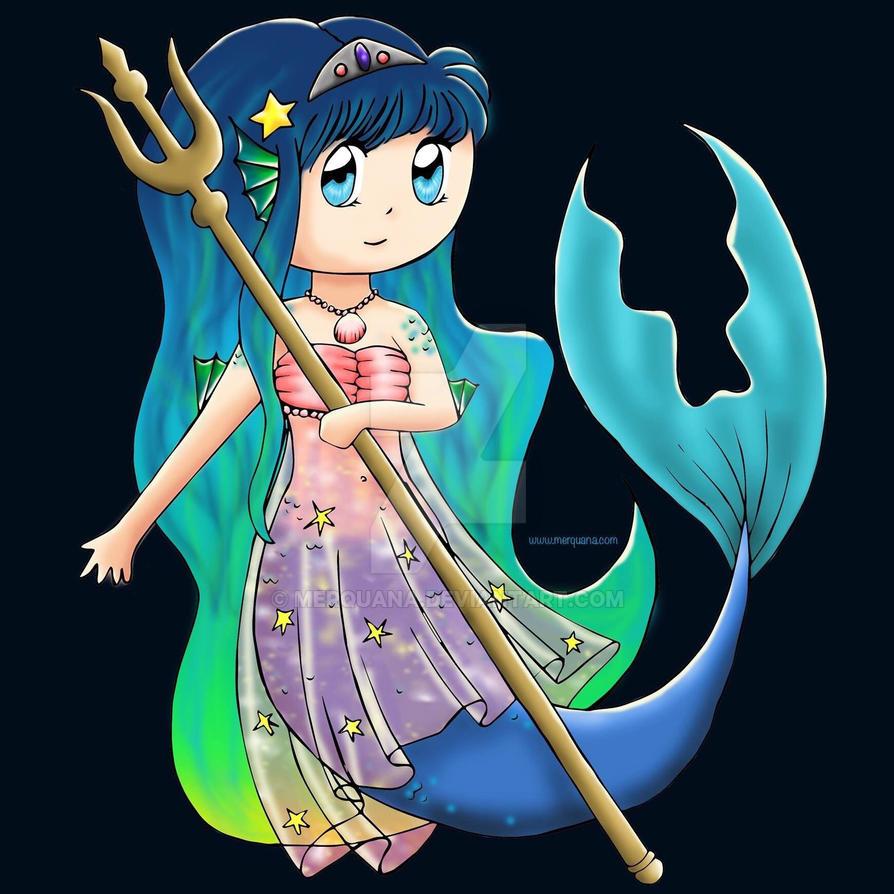 Mermaid Merquana  by Merquana