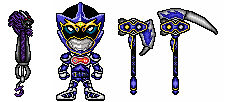 Kamen Rider Makai - LV 2 and weapons