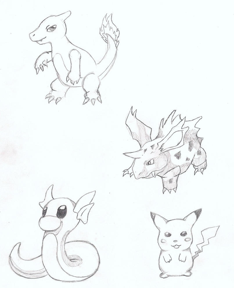 1000 Images About Pokemon Sketches On Pinterest