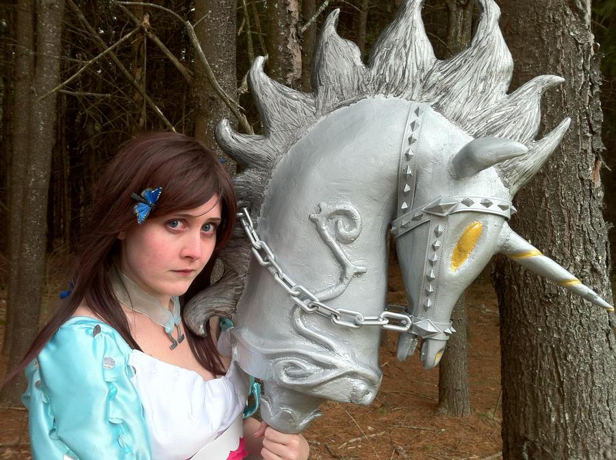 Alice Madness Returns: Siren Dress by Octopusfan13
