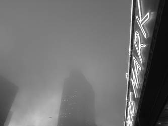 Pike Place Market Morning Fog, 2013 by gregpaul