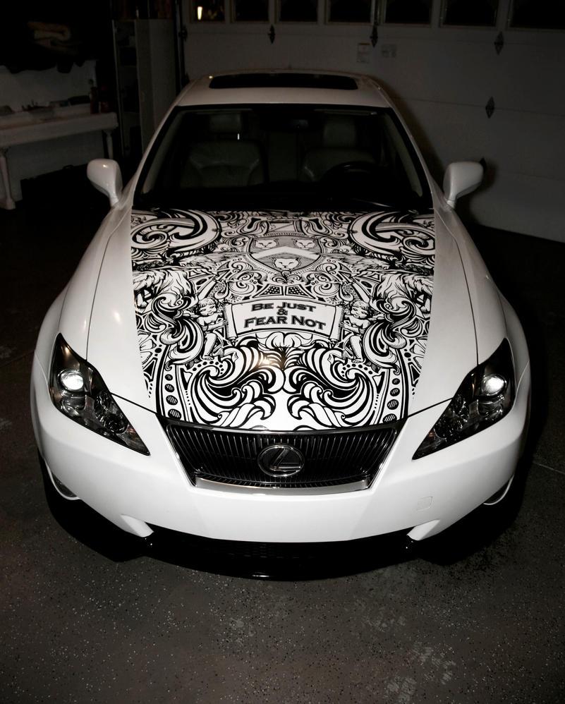 Sharpie Lexus by jaredtheashby