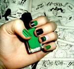 Zoro . One Piece Nails