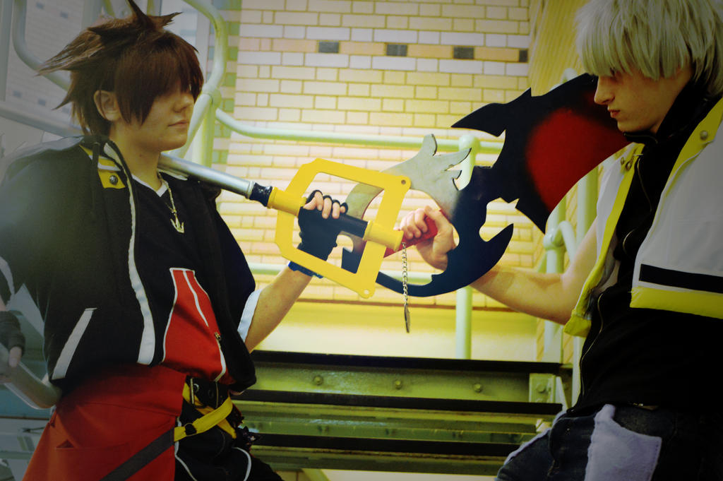 Sora And Riku - the power of Friendship by RoXas13BearerOfTwo
