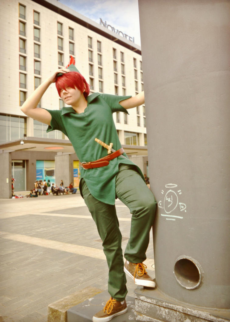 Peter Pan - At London MCM Expo by RoXas13BearerOfTwo