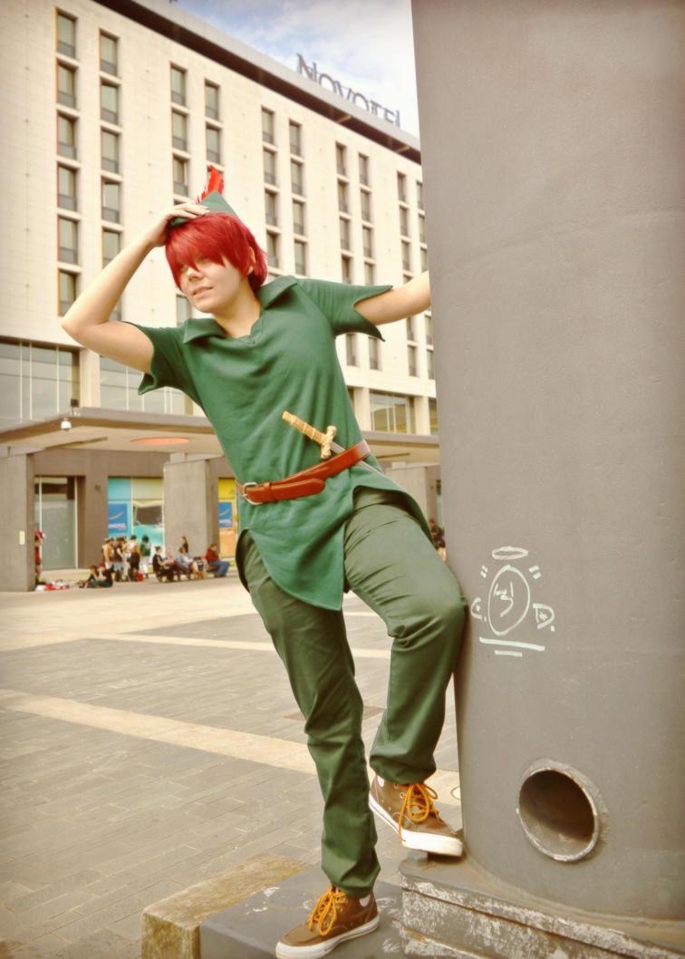Peter Pan - At London MCM Expo by RoXas13BearerOfTwo