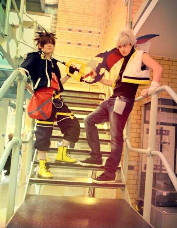 Sora And Riku - We Face Them by RoXas13BearerOfTwo