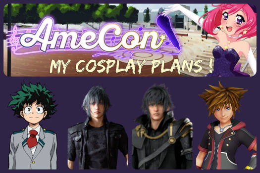 Amecon - cosplay plans