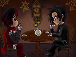 AT: Midnight tea party by iambunnie