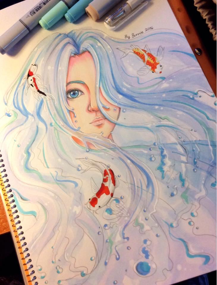 The Deep Sea Girl by iambunnie