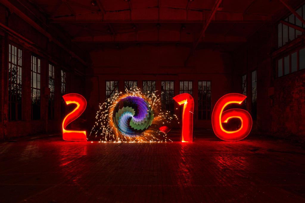 Happy New Year 2016 by zhenyab