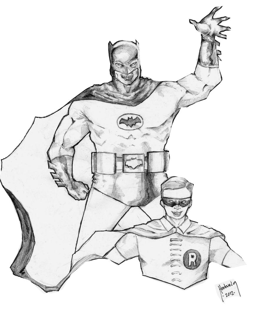 classic 1966 batman coloring page coloring pages