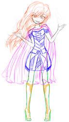 Woman Loki - sketch by ThePhantomCookie