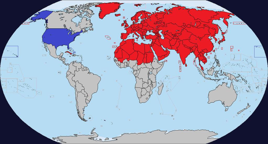 Alternate History Map Red World By Ltangemon On Deviantart