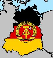 East Germany Flag Map by LtAngemon on DeviantArt