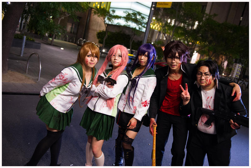 HIGHSCHOOL OF THE DEAD by Miimoko