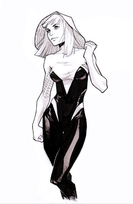 Spider-Gwen by KatotoChan