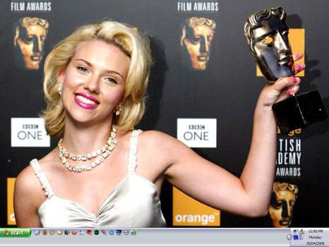 Scarlett Wins An Award