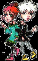 Amy x Neil by Nicoleaerith