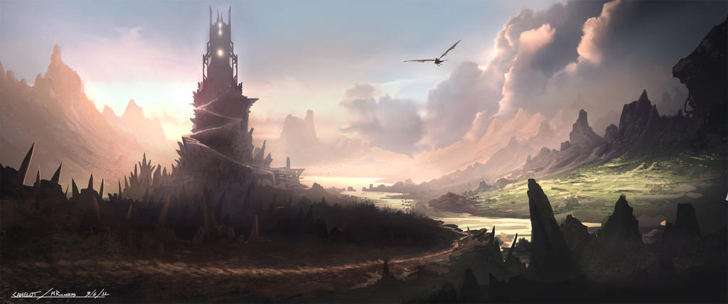 Camelot-spire by Butteredbap