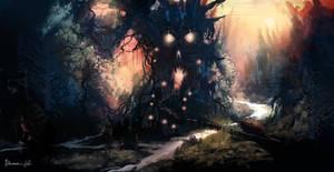 Forest skull