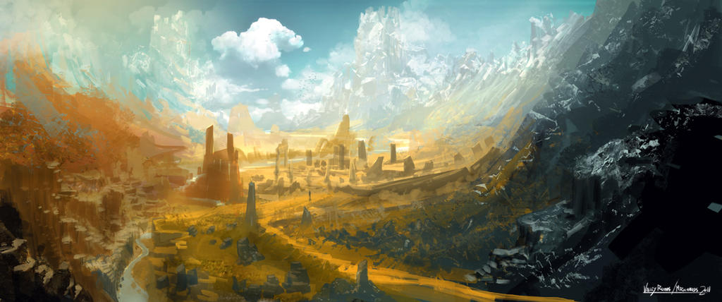 Valley-ruins
