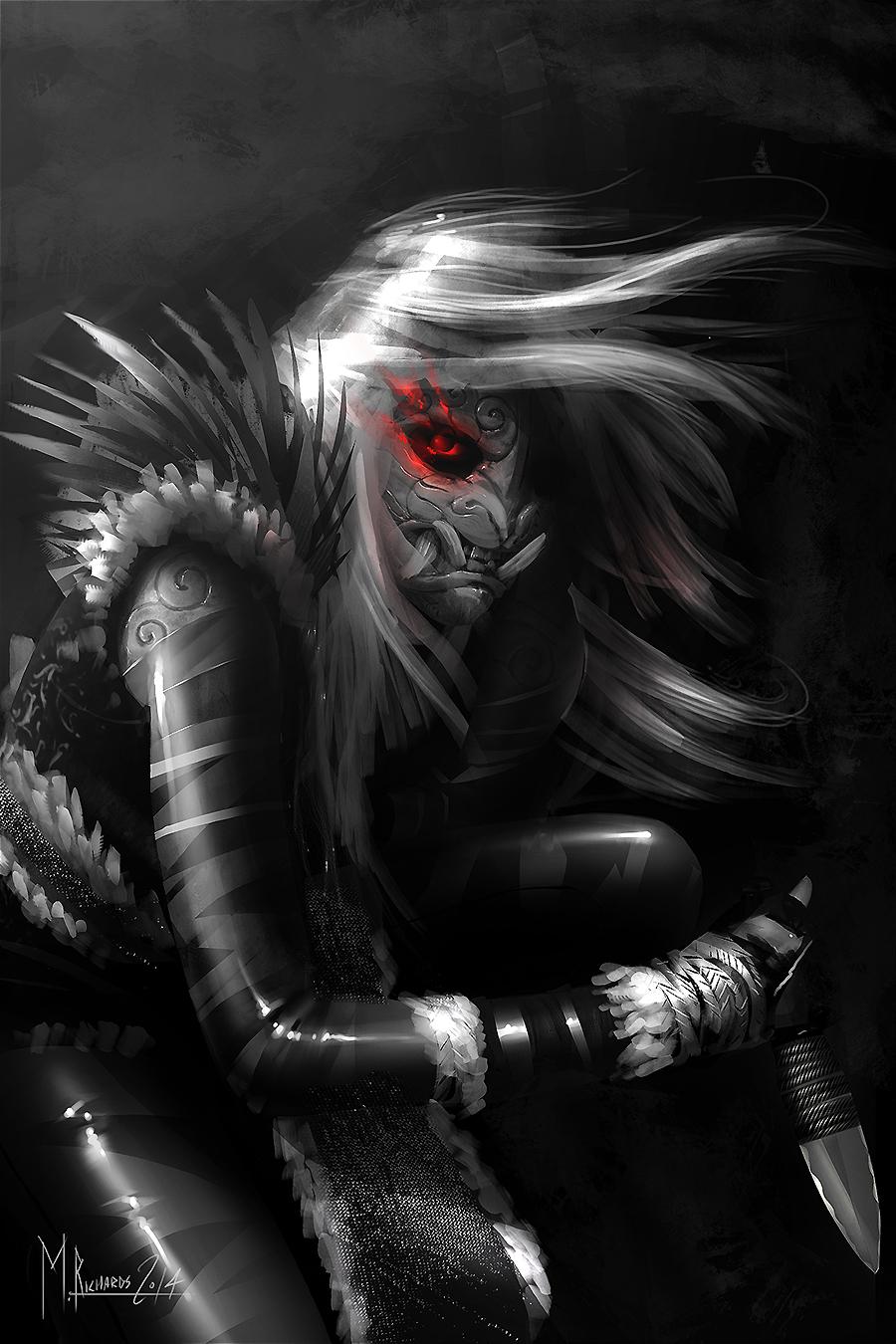 Demon Assassin By Butteredbap On Deviantart