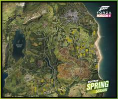 Forza Horizon 4 - Spring Map