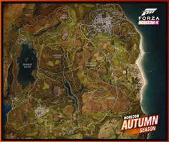 Forza Horizon 4 - Autumn Map