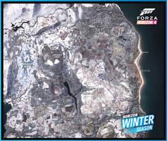 Forza Horizon 4 - Winter Map