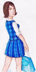 DrawEverythingChallenge: A Princess Gone Shopping by LoKIMOOn1000