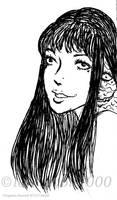 Beautiful Tomie (lineart)