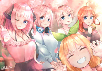 The Quintessential Quintuplets by Rokuuso