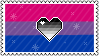 Identity Stamps - Bisexual Heteroromantic by boopnugget