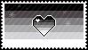 Identity Stamps - Heteroromantic Heterosexual by boopnugget