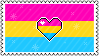 Identity Stamps - Pansexual Panromantic by boopnugget