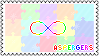 Identity Stamps - Aspergers Syndrome by boopnugget