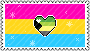 Identity Stamps - Pansexual Demiromantic by boopnugget