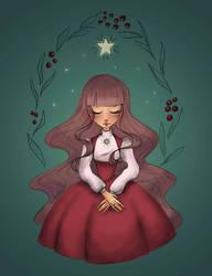 Christmas star by FireflyKari