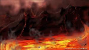 Mustafar Enviorment 1 by DarthTemoc