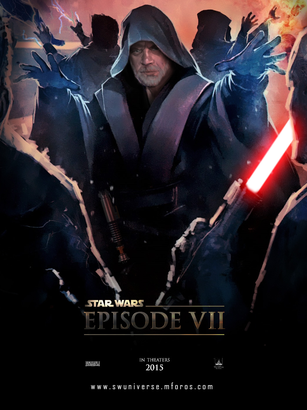 Star Wars Episode VII Fan Poster by DarthTemoc