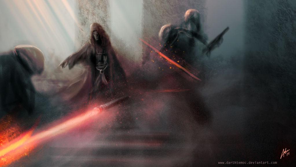 Lightsaber Execution by DarthTemoc