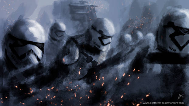 The Force Awakens - Stormtrooper by DarthTemoc
