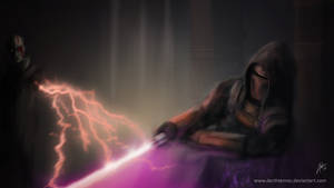 Revan vs The Son - part 2 by DarthTemoc